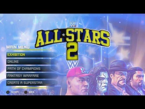 WWE All Stars 2 Concept: Main Menu, Match Types & Roster (Read Description)