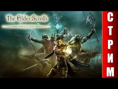 СТРИМ The Elder Scrolls Online - Смотрим игру с самого начала