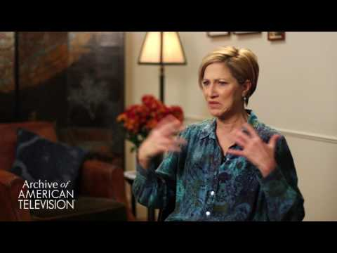 """Edie Falco on filming the fight scene in """"The Sopranos"""" season 4 finale - EMMYTVLEGENDS.ORG"""