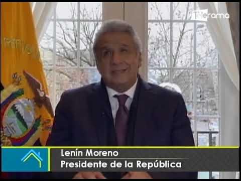 Lenín Moreno anuncia pago de bono de $500 para quienes perdieron empleo durante la pandemia