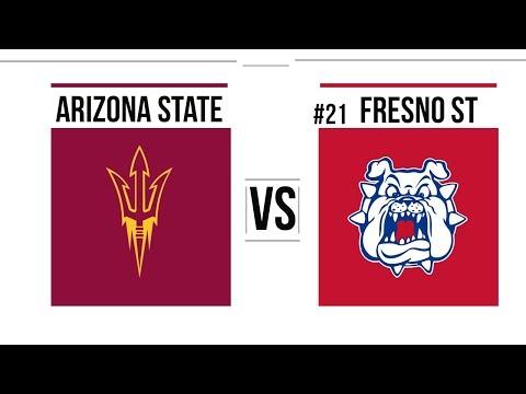 2018 Las Vegas Bowl Arizona State vs #21 Fresno State Full Game Highlights