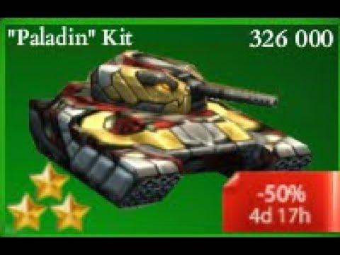 Tanki Online - New Paladin Kit With XT Skins! Smoky + Viking XT At Major Rank!