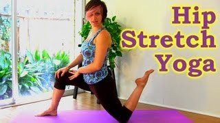 10 Minute Yoga Hip Stretch Workout: How To Stretches for Hip, Butt & Leg Pain, Jen Hilman Austin Tx - YouTube