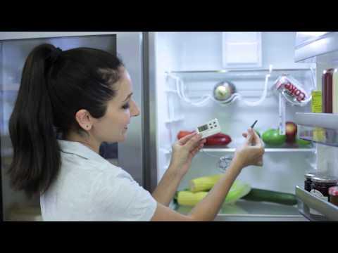 Comment garder vos aliments frais avec les thermomètres pour réfrigérateur et congélateur AEG.