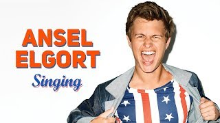 Video Ansel Elgort (Baby Driver) Singing Cover Songs Compilation   REAL VOICE !!! MP3, 3GP, MP4, WEBM, AVI, FLV Januari 2018