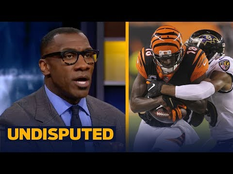 Skip and Shannon react after the Bengals beat the Ravens, 34-23 | NFL | UNDISPUTED