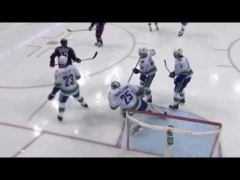 Video: Vancouver Canucks vs Columbus Blue Jackets | NHL | DEC-11-2018 | 20:00 EST