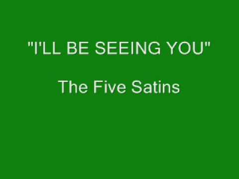 Tekst piosenki The Five Satins - I'll Be Seeing You po polsku