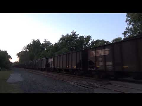Norfolk Southern 592 - 9/29/17 (видео)