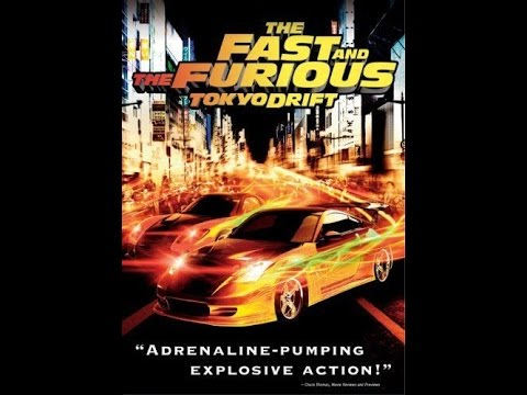 Opening To The Fast And The Furious:Tokyo Drift 2006 DVD