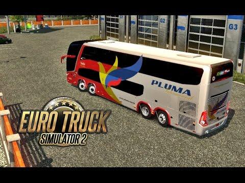 Euro Truck 2 - Pluma DD G7 -  Caxias do Sul x Santiago (RS)