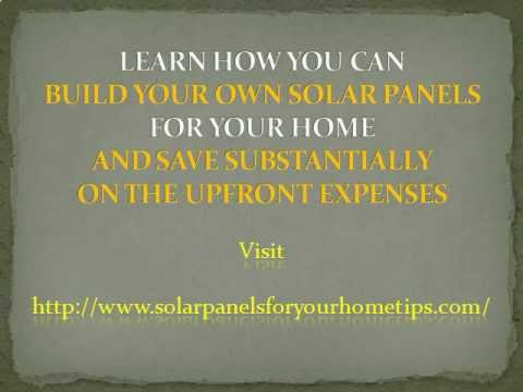 Solar Panels For Home – Is It Worth Investing?