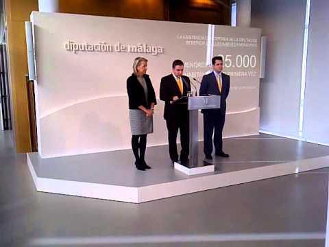 Elías Bendodo presenta el Plan Provincial de Asistencia y Cooperación a los Municipios