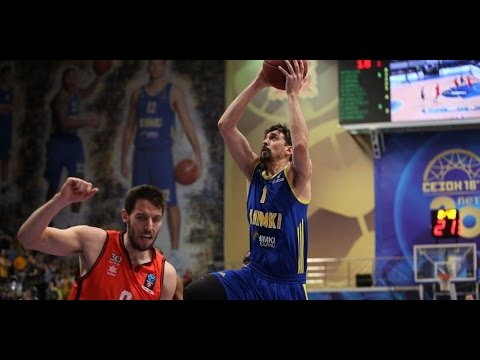 7DAYS EuroCup Highlights: Khimki Moscow Region-Valencia Basket, Game 2