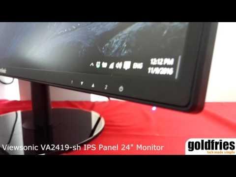 [Tech Showcase] Viewsonic VA2419-sh IPS Panel 24