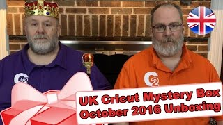 Box United Kingdom  city photo : United Kingdom's Cricut Mystery Box - October 2016 Unboxing/Reveal