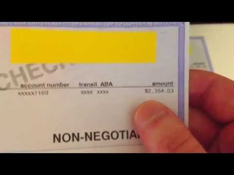 Aircraft Mechanic Salary – Aircraft Mechanic Shows His Paycheck