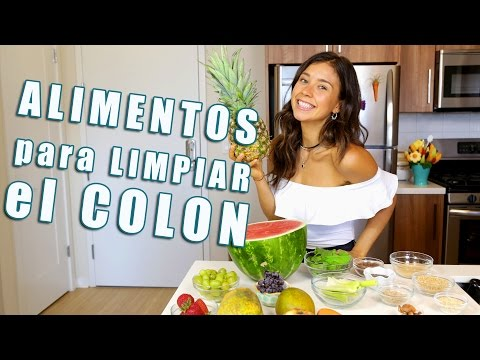 ALIMENTOS PARA LIMPIAR EL COLON Y PERDER DE 8-10 LIBRAS