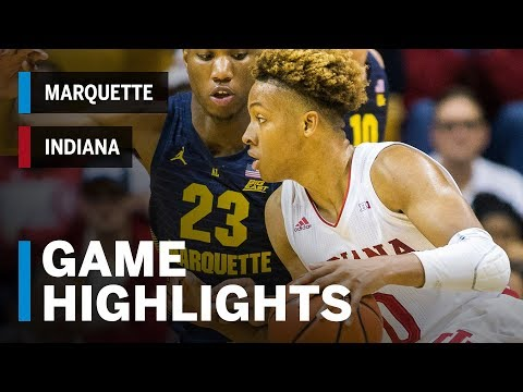 Extended Highlights: Marquette at Indiana | Big Ten Basketball