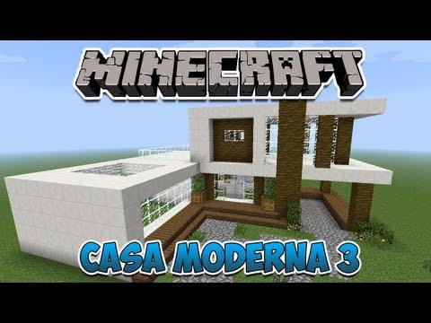 Casas modernas team 39 s idea for Casa moderna survival minecraft