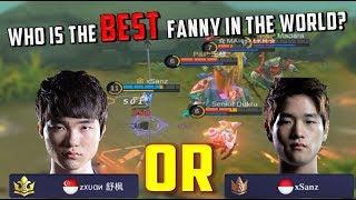 Download Video Zxuan, xSanz or Konoha? WORLD BEST FANNY - Mobile Legends MP3 3GP MP4