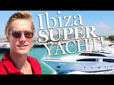 We Rented A Yacht In Ibiza!