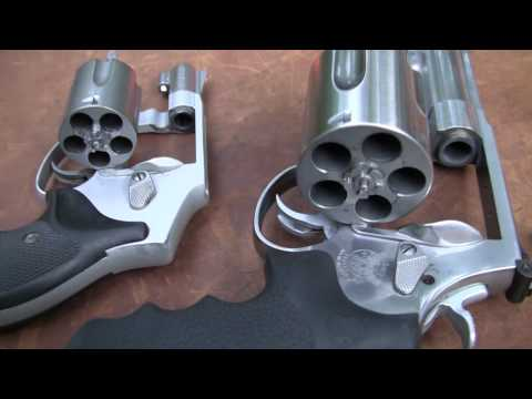 500 - Showing and shooting the massive .500 S&W Magnum revolver at steel, cinder blocks, & large soda bottles. By the way, I'm getting questions about the Glock & ...