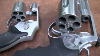 Showing and shooting the massive .500 S&W Magnum revolver at steel, cinder blocks, & large soda bottles. ------------------- Please ...