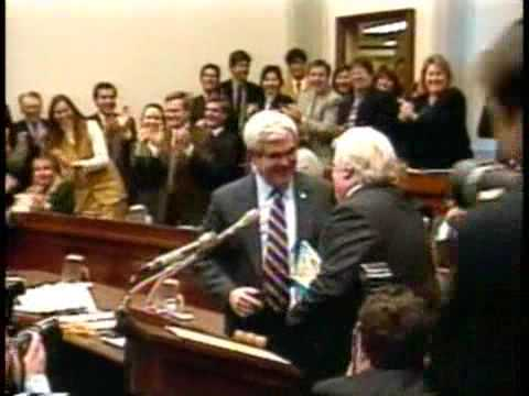 Chris Farley on Newt Gingrich - Bloopers and Blunders