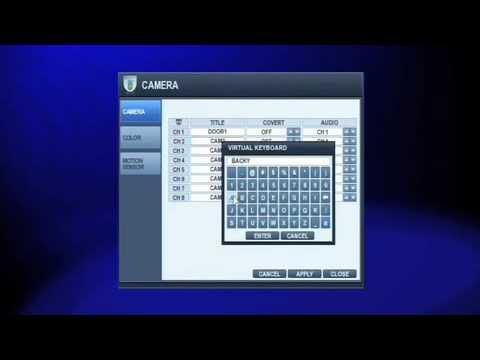 Samsung DVR Security System Installation - 8 Channel