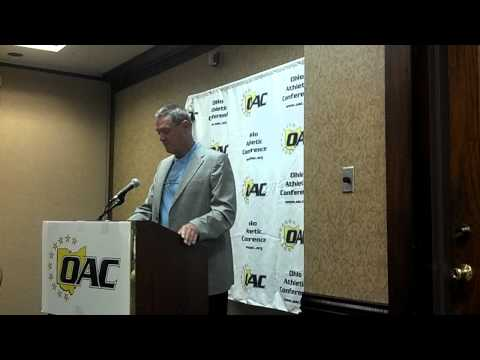 Larry Kehres Speech at OAC Media Day