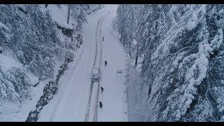 Nonton Snowy Road To Nathia Gali    Murree Snowfall 2018   Drone In Snow Fall 4k   Amazing Pakistan Film Subtitle Indonesia Streaming Movie Download