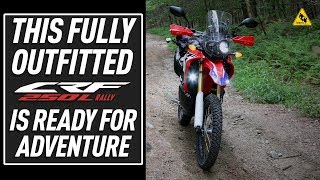 4. Outfitting the 2017 Honda CRF250L Rally for Adventure | TwistedThrottle.com