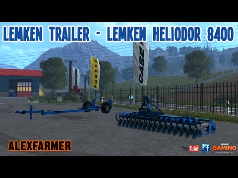 Lemken Heliodor 8400 Set v1.0