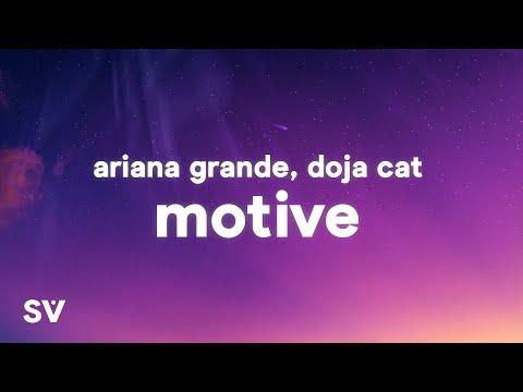 Ariana Grande, Doja Cat - Motive (Lyrics)