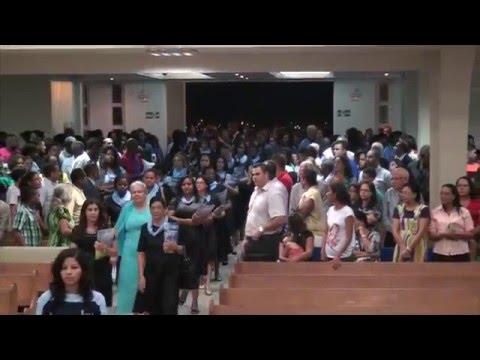 Entrada das irmãs do Círculo de Oração - 2016