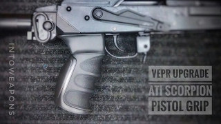 Review and Install of the ATI AK-47 Scorpion Recoil Pistol Grip (https://goo.gl/Bnyjsu), on the VEPR 7.62x54r AK-47 with 16