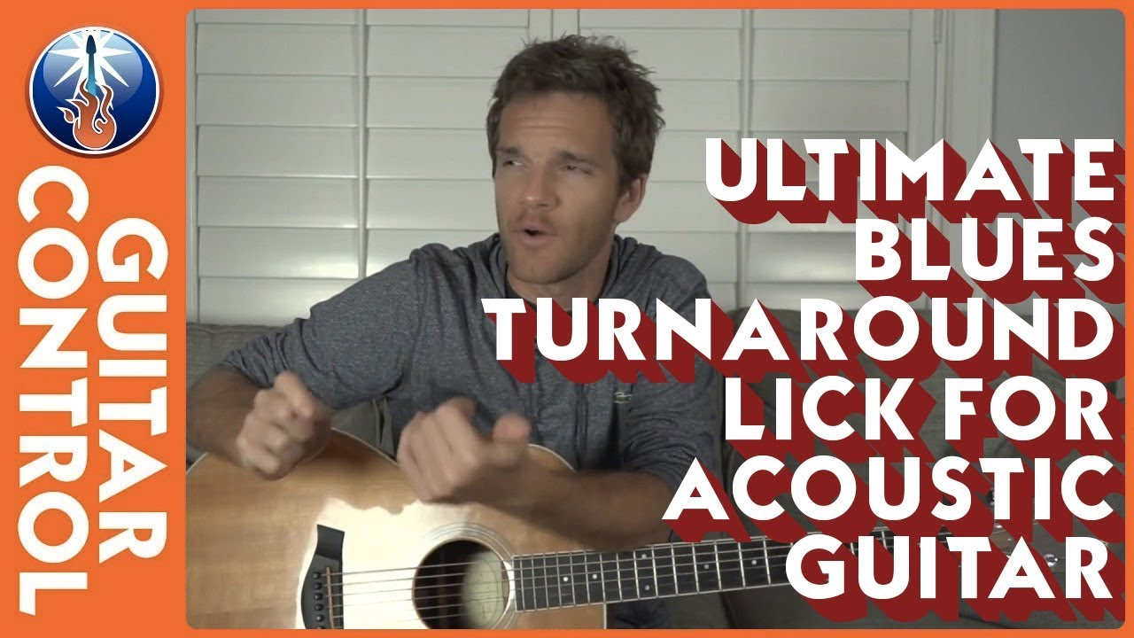 Ultimate Blues Turnaround Lick For Acoustic Guitar