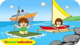 Video Kutahu Nama Kendaraan (perahu layar, kapal laut, rakit) - Kastari Animation Official MP3, 3GP, MP4, WEBM, AVI, FLV Juli 2018