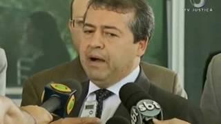 Presidente do STF recebe o Ministro do Trabalho, Ronaldo Nogueira
