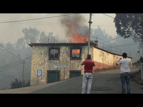 Πορτογαλία: Γιγαντιαία κινητοποίηση λόγω 180 πύρινων μετώπων σε όλη τη χώρα