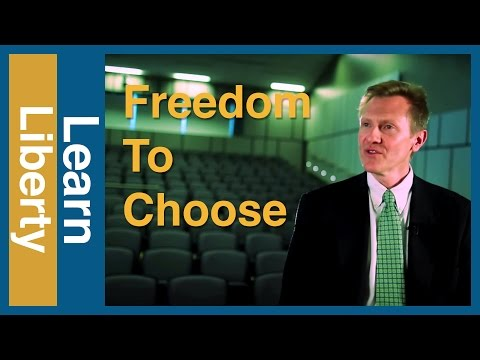 Human Dignity and the Freedom to Choose