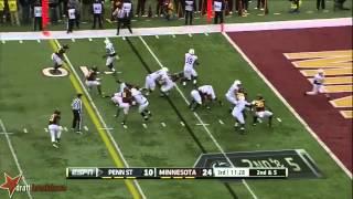 Ra'Shede Hageman vs Penn State (2013)