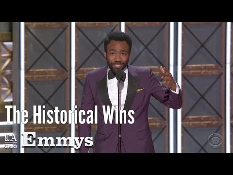 The Historical Wins At The 2017 Emmy Awards | Los Angeles Times (видео)