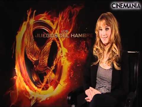 Entrevista Jennifer Lawrence - Los juegos del hambre - CINEMANÍA