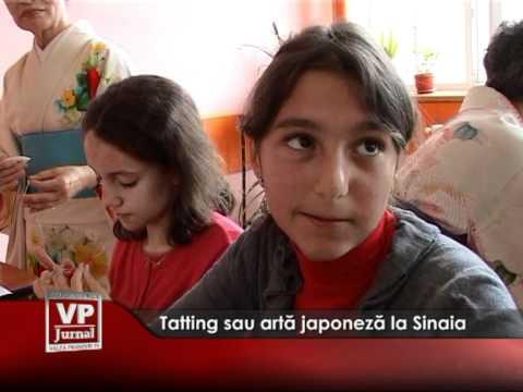 Tatting sau artă japoneză la Sinaia