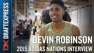 Devin Robinson 2015 Adidas Nations Interview