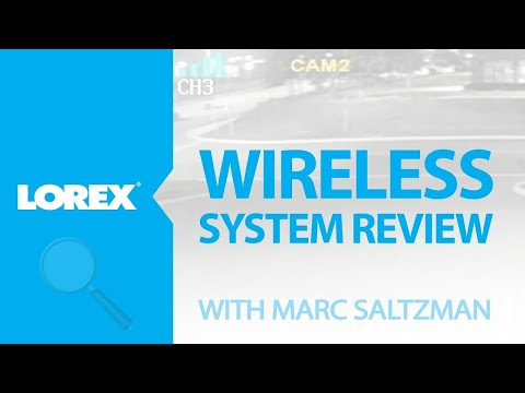 Wireless security camera with real-time wireless video – Lorex LW2230 Series