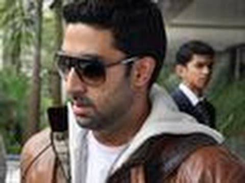 Abhishek Bachchan takes his FANS home
