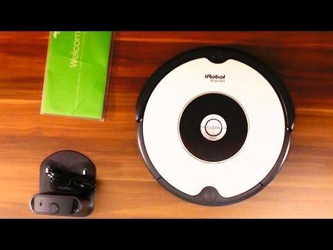 iRobot Roomba 605 Vacuum Reviews, Cleaning Robot Test